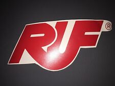 "RUF Adhesive Car Stickers Vinyl Porsche 6""x4"" Inches Gemballa 2 x Decals"