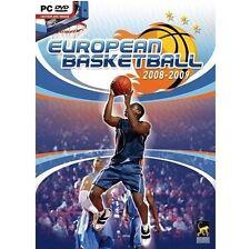 Déstockage Jeu PC EUROPEAN BASKETBALL 2008-09 IDORU (7+) Neuf sous Blister