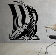 Marine Ship Wall Decal Vinyl Sticker Nautical Vikings Interior Art Decor (19shp)