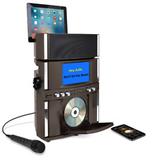 Bluetooth Karaoke System Machine USB Vocal Recording 7in Screen Speaker Kareoke