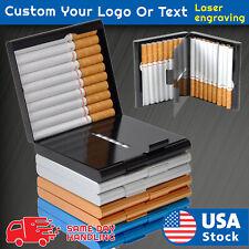 Aluminum 20PCS Cigar Cigarette Tobacco Case Holder Pocket Box Storage Container