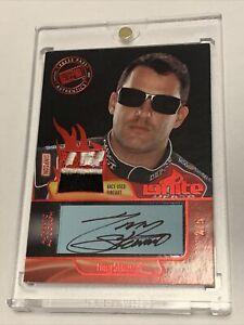 TONY STEWART Press Pass Authentics 2012 Race Used Firesuit IGNITE Auto /5 NASCAR