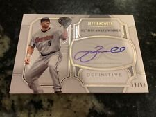 2020 Topps Definitive Jeff Bagwell Legendary Autograph Collection /50 Astros