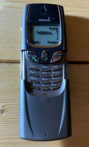 Genuine Original Nokia 8850 Dummy Fascia Housing Cover Slide Door parts FAULTY