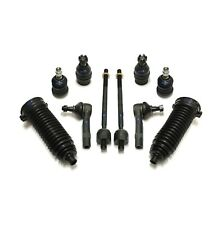 10 Pc Steering Kit for Ford Ranger Mazda B2500 B3000 B4000 Tie Rods Bellow Boots