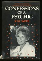 Confessions of A Psychic ~ Susy Smith 1971 Second Printing HB / DJ