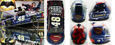 JIMMIE JOHNSON 2016 SUPERMAN CAR & HELMET COMBO 1/24 ACTION 1/2 SCALE BRAND ART