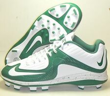 New Nike Air MVP Pro 2 MCS Baseball Cleats Size 11.5 White Green Molded