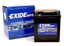 Batería sin mantenimiento para Moto YTX7L-BS EXIDE