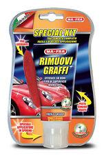"""SPECIAL KIT RIMUOVI GRAFFI PER AUTO E MOTO 100 ml CON PAD LUCIDANTE  """" MA-FRA """""""