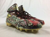 NEW adidas Quickframe High - Gold/Red Cleats (Men's Multiple Sizes)