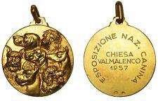 ITALIA CHIESA VALMALENCO Medaglia Esposizione Nazionale Canina 1957