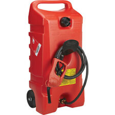 Scepter 06792 Flo Ngo Duramax Portable Wheeled Fuel Container Red 14 Gallon
