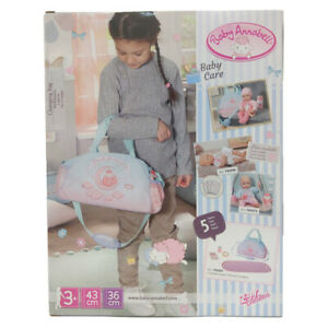 Baby Annabell Changing Bag for Dolls Accessories Included