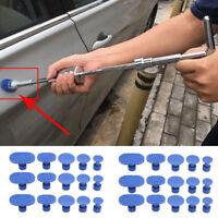 Car Body Slide Hammer Glue Puller Tabs Lifter Paintless Dent Repair Tools Kit