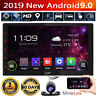 """10.1"""" 2 DIN Autoradio GPS Bluetooth Navi Car Stereo Player Android 9.0 Voiture"""