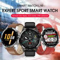 L16 Sport Smart Watch Men ECG+PPG Blood Pressure Heart Rate Sleep Monitoring