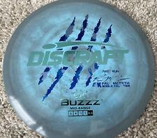 Discraft First Run Paul McBeth 4x Buzzz Triple Blue 177+