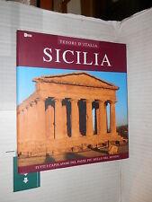 SICILIA Eurored 2004 libro manuale corso viaggi turismo tesori d Italia di