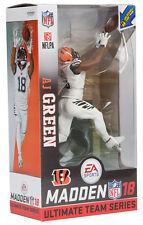 Mcfarlane Madden NFL 18 Series 1 AJ Green Bengals Color Rush Figure In Stock