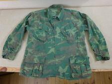 US ARMY VIET NAM ERDL Feldjacke coat mans camouflage cotton Tarnjacke Gr.Large