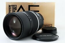 【 MINT in BOX 】 Nikon AF DC-Nikkor 135mm f/2 Portrait Lens w/ BOX from JAPAN