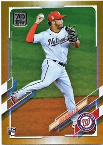 Luis Garcia RC - 2021 Topps Series 1 GOLD FOIL #298 - Hobby Exclusive Nationals