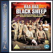 BAA BAA BLACK SHEEP - THE COMPLETE SERIES *BRAND NEW DVD BOXSET**