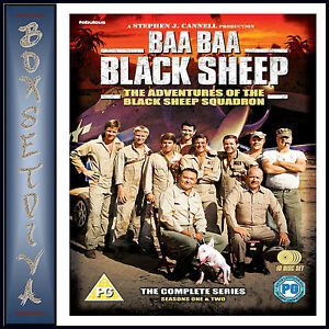 BAA BAA BLACK SHEEP - THE COMPLETE SERIES *BRAND NEW DVD BOXSET**
