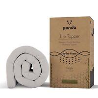 Panda Gel Infused Memory Foam (Hydro-Foam) Bamboo Mattress Topper (ALL SIZES)