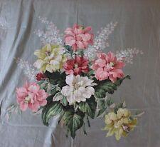 Genuine Vintage American Floral Chintz Home Dec Fabric Yardage c1940~7 yards