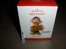 Hallmark 2013 Free Kisses Disney Dopey Snow White Limited Quantity Ornament MIMB