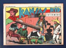 COLLECTION WILD WEST n°29 nouvelle série -  Kansas Kid.  SAGE 1949 Carlo COSSIO