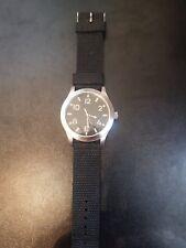 1950 S Navale Russa Diver Watch Eaglemoss REPLICA Nero Intrecciato Cinturino Quarzo