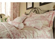 Toile De Jouy Antique Red Bed Linen and Coordinates