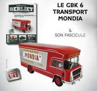 Berliett FF 6x6 FPT Feuerwehr Fertigmodell Maßstab 1:43