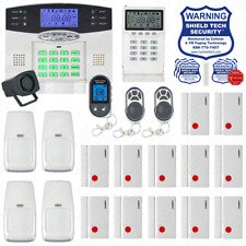Wireless Burglar Alarm System Phone Line Auto Dialer US Home House Smart PSTN FC