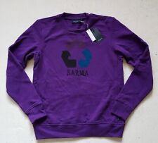 PAUL SMITH SWEATSHIRT *Karma* Purple Cotton Size M (40) New With Tags RRP £180