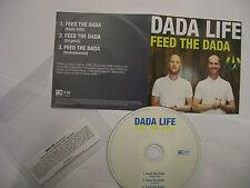 DADA LIFE Feed The Dada [3 Versions] – 2012 UK CD PROMO - Trance – RARE!