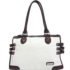 New Dasein Women Handbag Faux Leather Shoulder Bag Satchel Tote Bag Large Purse