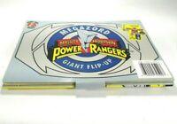 MMPR Megazord Giant Flip Up (1994) Honey Bear Books Mighty Morphin Power Rangers