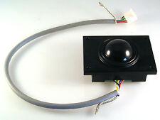GEC Plessey Mouse/ Trackball Control Hi Tech Use 33mm Diam Ball Panel Mnt OM0850
