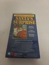 Christmas Classics VHS(Santa's Surprise-Pups Christmas-Cartoon Portrait) NEW