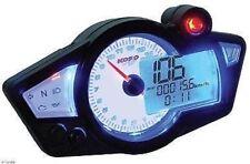 KOSO Universal Speedometer Tachometer Gauge RX-1 White BA011B02