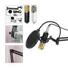 BM800 Pro Condenser Microphone Kit Studio Audio Recording Arm Stand Shock Mount