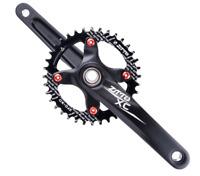 ZTTO Mountain Bike Crankset 170mm BCD104 Crank Arms & Bottom Bracket & Chainring