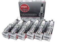 (SET OF 6) NGK 3951/TR55 V-POWER PREMIUM COPPER SPARK PLUGS MADE IN JAPAN