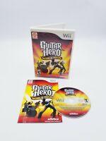 Guitar Hero: World Tour (Nintendo Wii, 2008) Complete