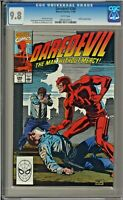Daredevil #286 CGC 9.8 White Pages Bullseye app ONLY ONE ON EBAY!