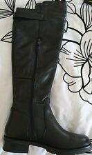 jones bootmaker scout knee high boot black leather uk 4 ladies only left boot